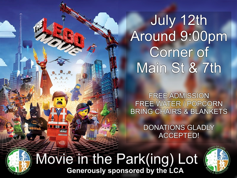 Movie in the Parking Lot - The Lego Movie